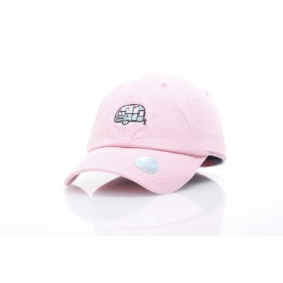 Ethos KBSV-063-PINK Dad cap Happy camper Roze