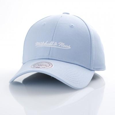 Mitchell & Ness EU1053-BLU Dad cap Low pro Mitchell & Ness Blauw