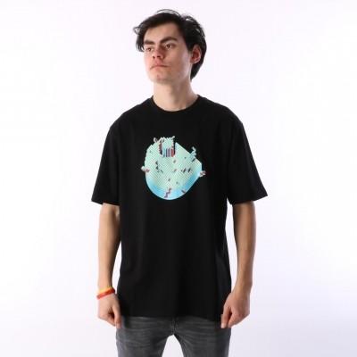 Carhartt WIP I024684-89 T-shirt C pixel Zwart
