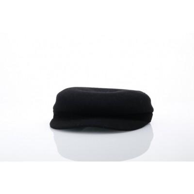 Kangol K3124HT Flat cap Wool enfield Zwart