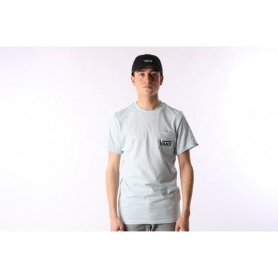 Vans VA2YQV-689 T-shirt Otw classic Blauw