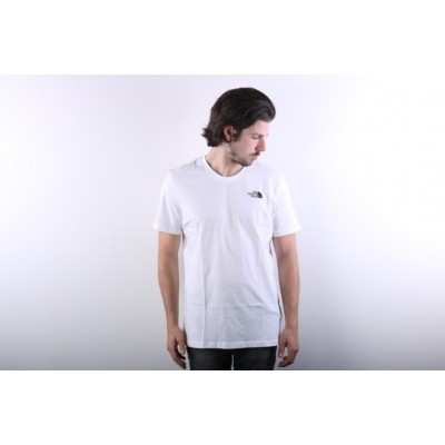 The North Face T92TX5-FN4 T-shirt Simple dome Wit
