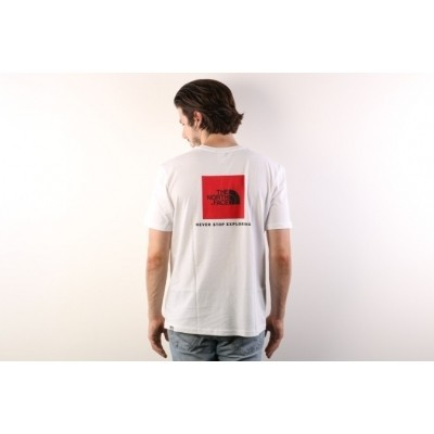 The North Face T92TX2-FN4 T-shirt Redbox Wit