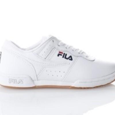 Fila Ladies 5VF80172-150 Sneakers Original fitness suede Wit