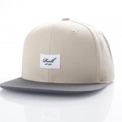 Reell Snapback cap Pitchout Wheat / Greyblack