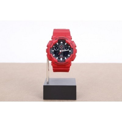 Casio G-Shock GA-100B-4AER Watch GA-100B Rood