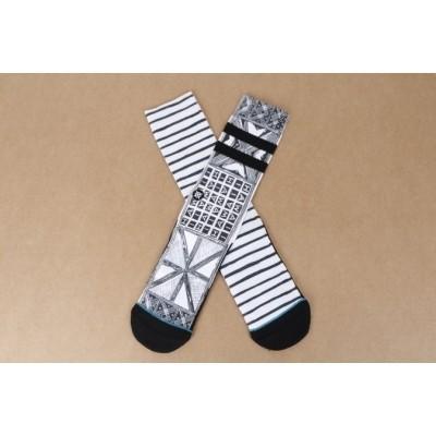 Stance M556C16VIL-WHT Socks Via lopez Wit