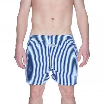 Pockies Boxershort Navy Stripes Blue