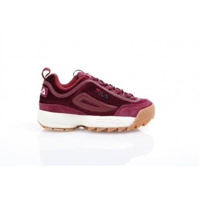 Fila Ladies 1010305-40I Sneakers Disruptor v low Rood