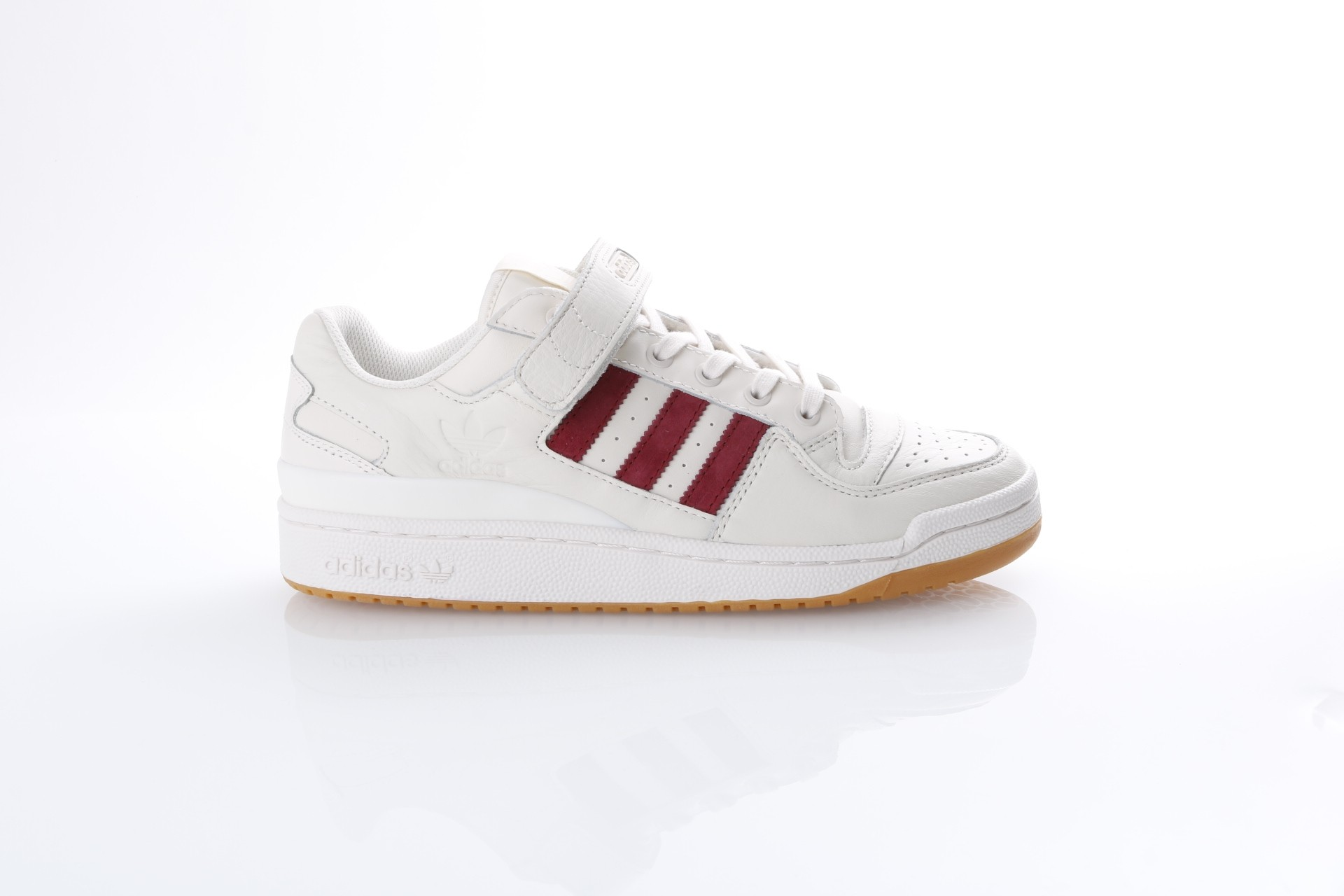 Foto van Adidas Originals CQ0997 Sneakers Forum low Wit