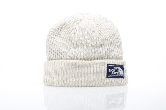 Foto van The North Face T0A6W3-WTD Beanie Salty dog Wit