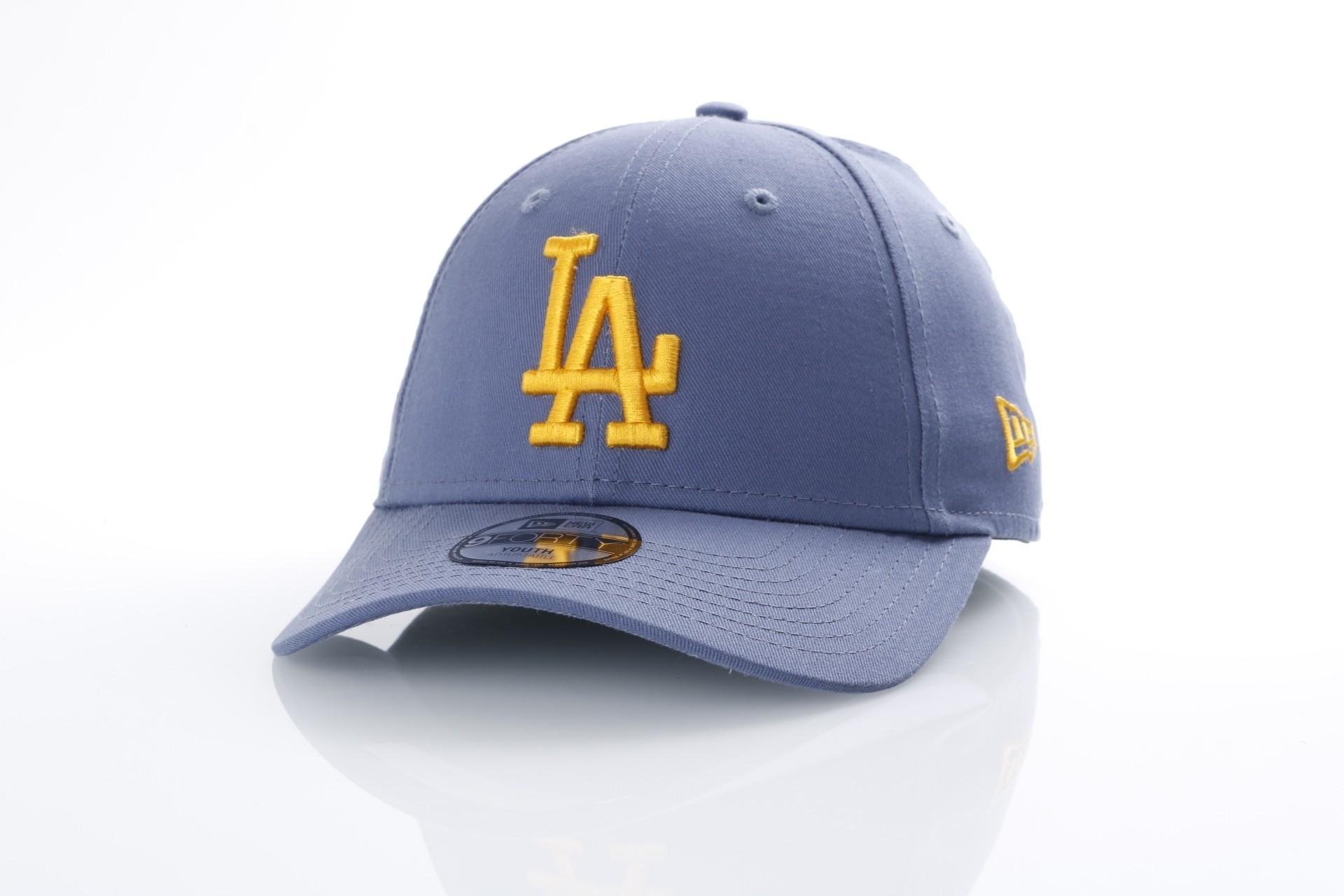 Foto van New Era Kids 80536636 Dad cap Kids league essential 940 LA Dodgers Grijs