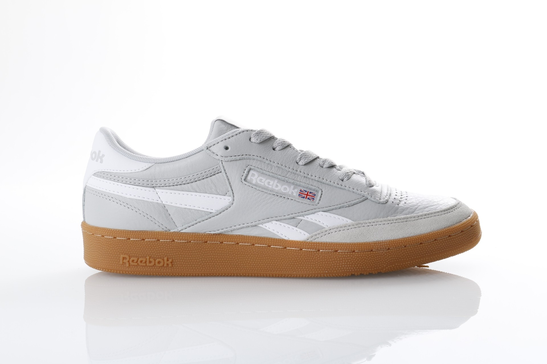 Foto van Reebok CN0510 Sneakers Revenge plus gum Grijs