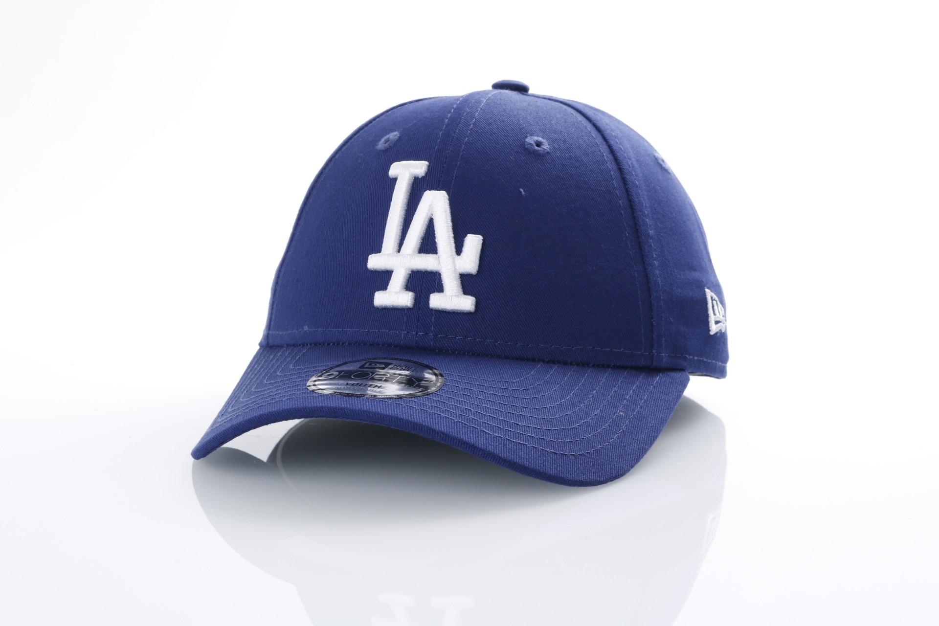 Foto van New Era Kids 80536521 Dad cap Kids kids essential 940 LA Dodgers Official team colors