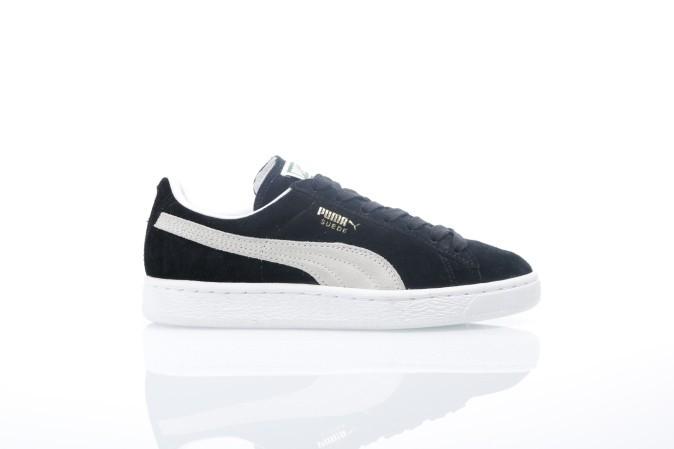 Foto van Puma 352634-03 Sneakers Suede classic+ Zwart