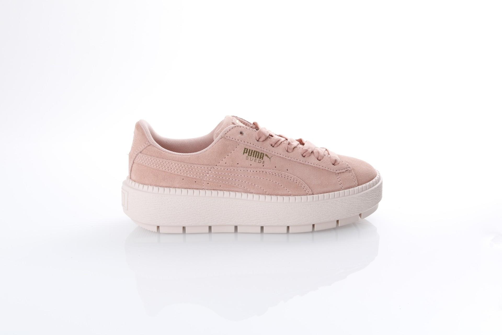 Foto van Puma Ladies 365830-05 Sneakers Platform trace Roze