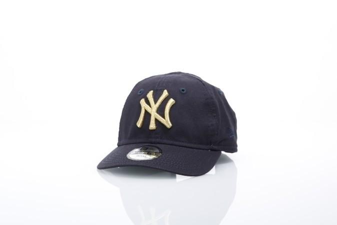 Afbeelding van New Era Kids 80536479 Dad cap Infant golden 940 NY Yankees Blauw