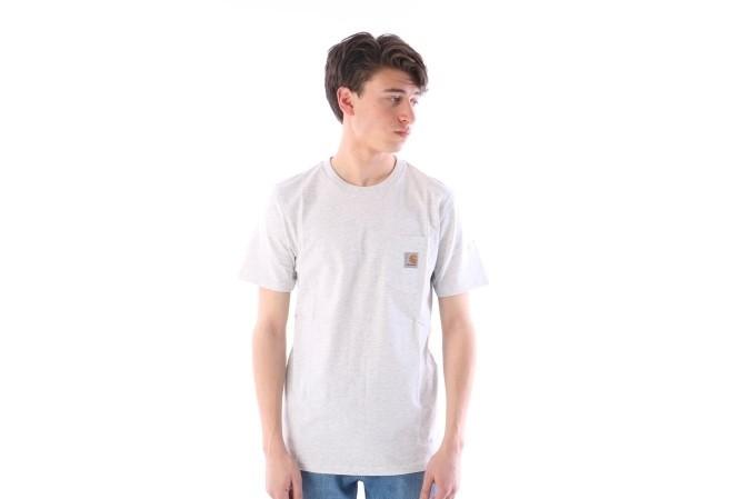 Foto van Carhartt WIP I022091-48200 T-shirt Pocket Grijs