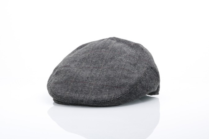 Foto van Ethos KBW-321 Flat cap Ascot Zwart