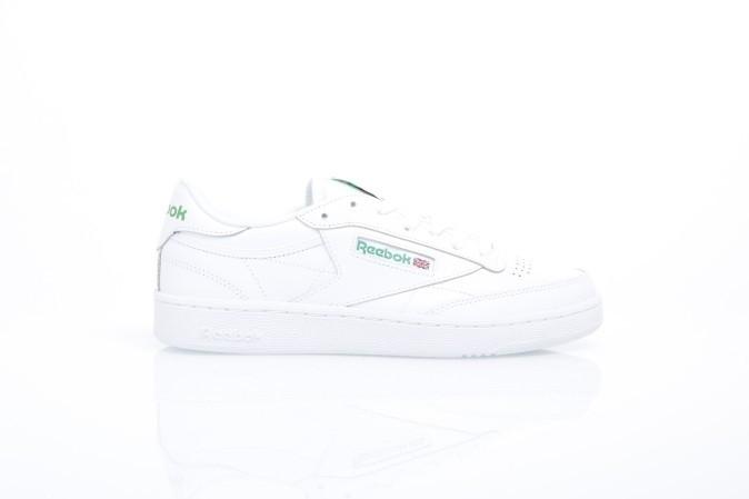 Foto van Reebok AR0456 Sneakers Club c 85 Wit
