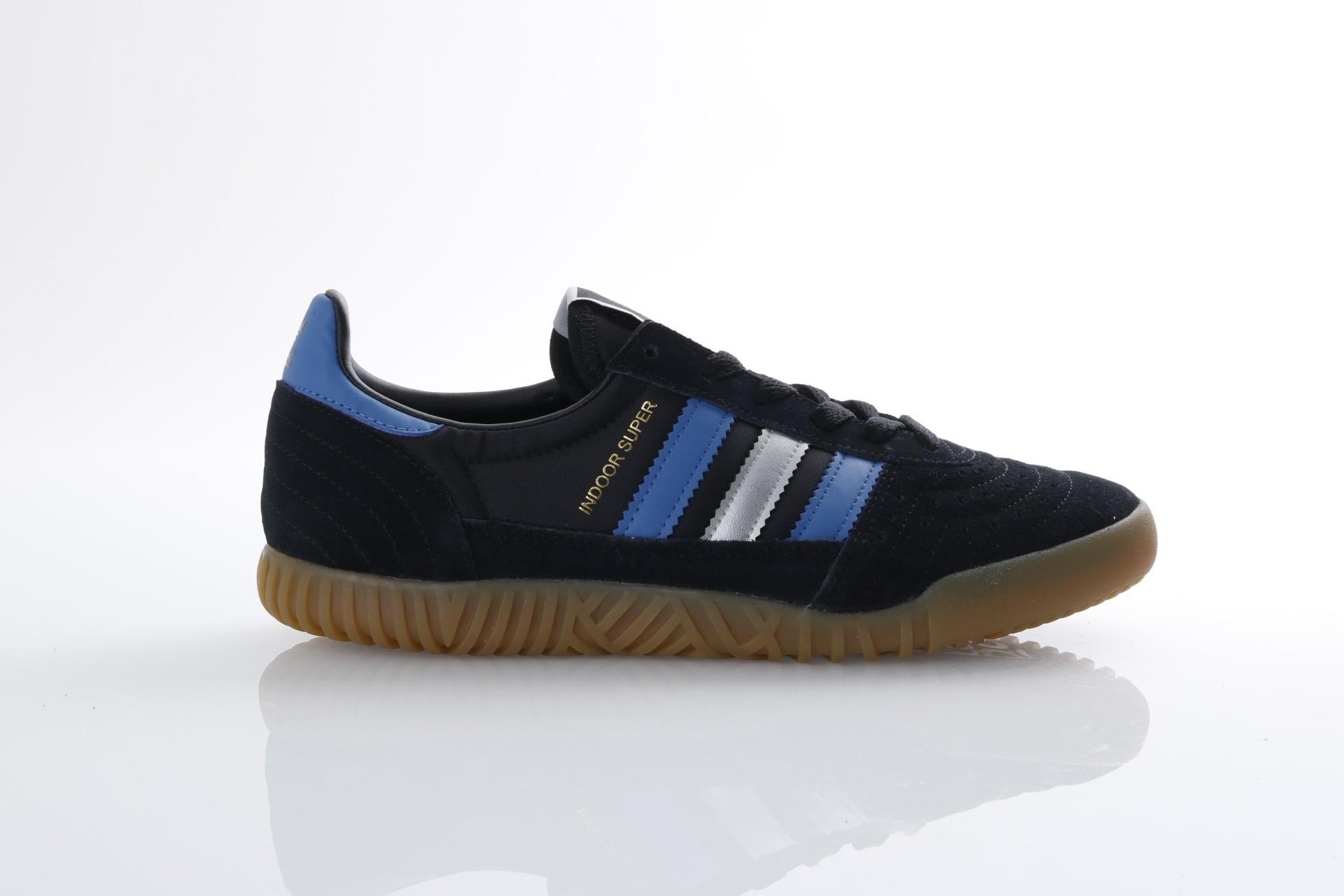 Foto van Adidas Originals CQ2224 Sneakers Indoor super Zwart
