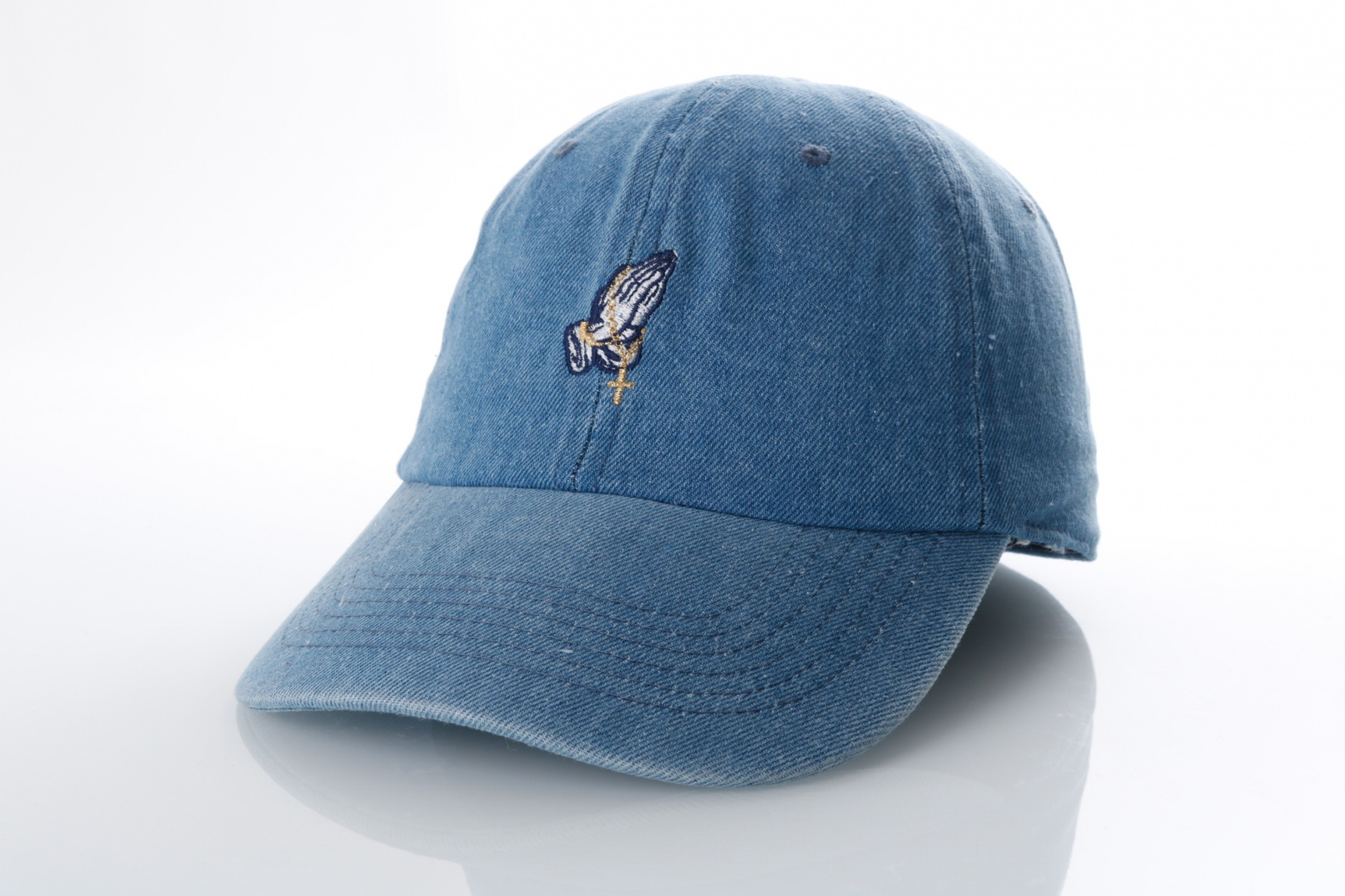Foto van Ethos Pray KBSV-060 Medium denim KBSV-060 dad cap Medium denim