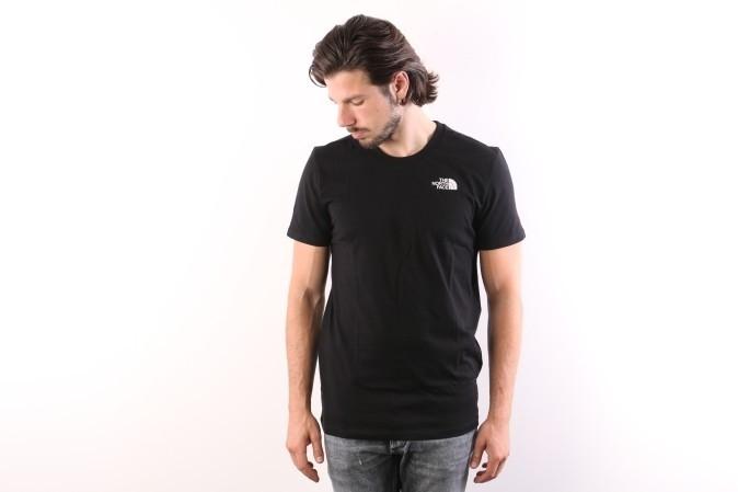 Foto van The North Face T92TX5-JK3 T-shirt Simple dome Zwart