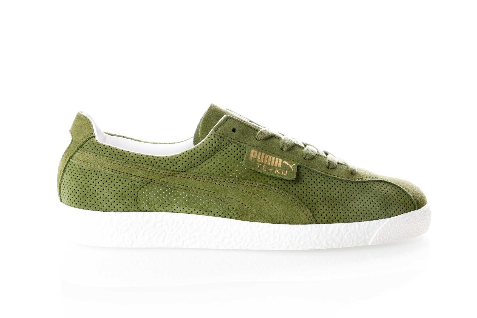Foto van Puma Te-Ku Summer 365422 05 Sneakers Olive-Capulet Olive