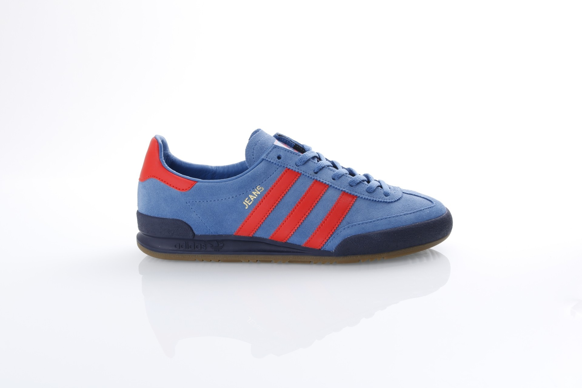 Foto van Adidas Originals CQ2766 Sneakers Jeans Blauw
