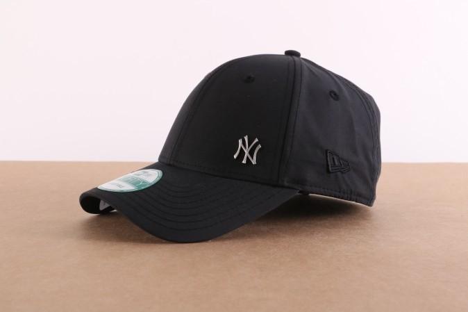 Afbeelding van New Era 11198850 Dad cap MLB flawless 940 NY Yankees Zwart
