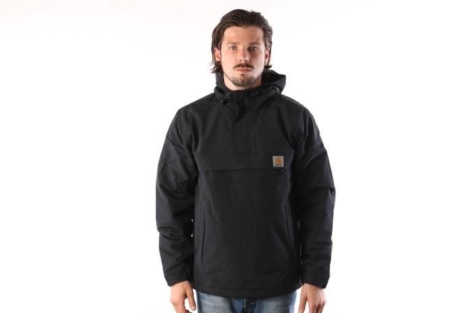 Foto van Carhartt WIP I021872-8900 Jacket Nimbus pullover Zwart