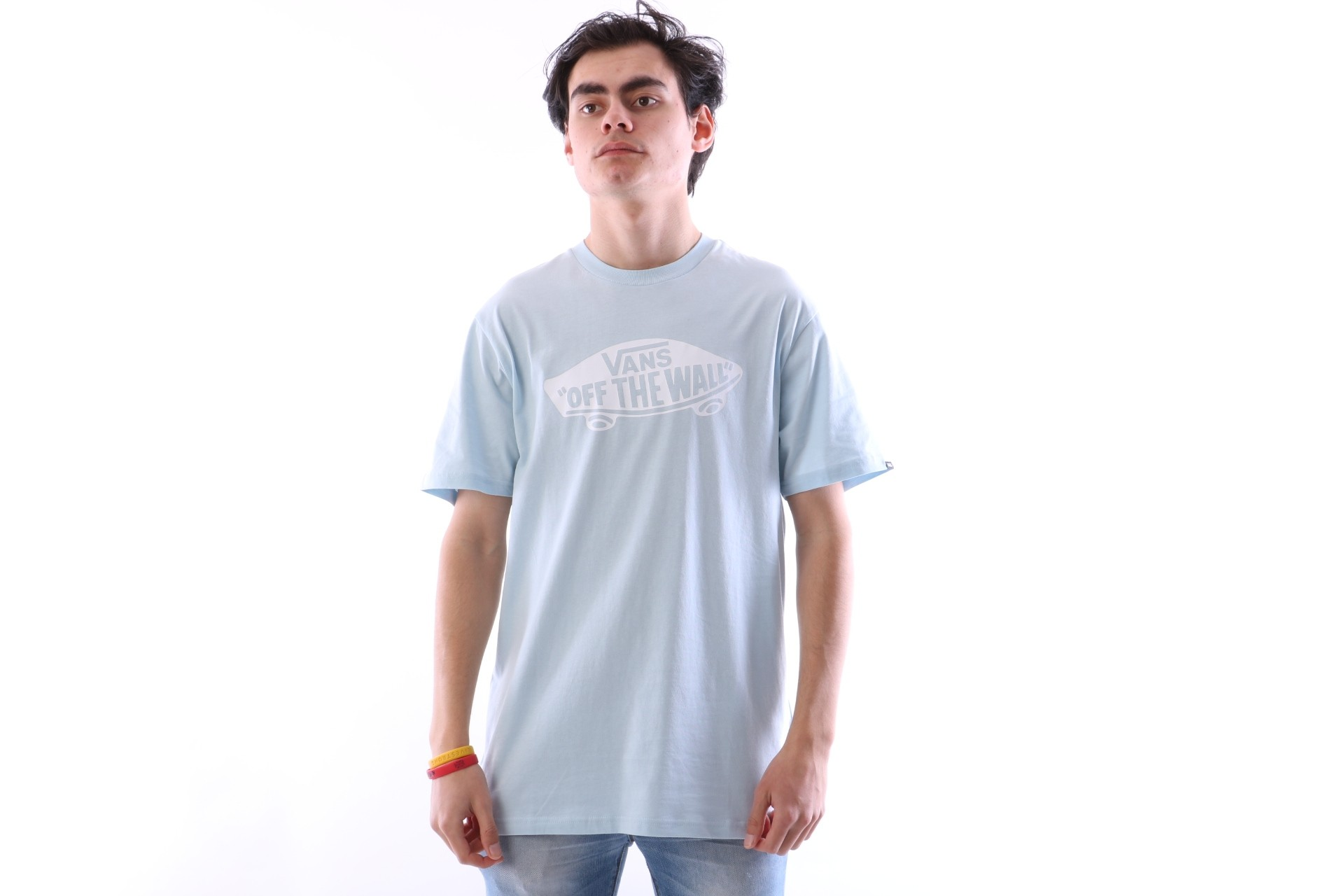 Foto van Vans V00JAY-689 T-shirt Vans OTW Blauw