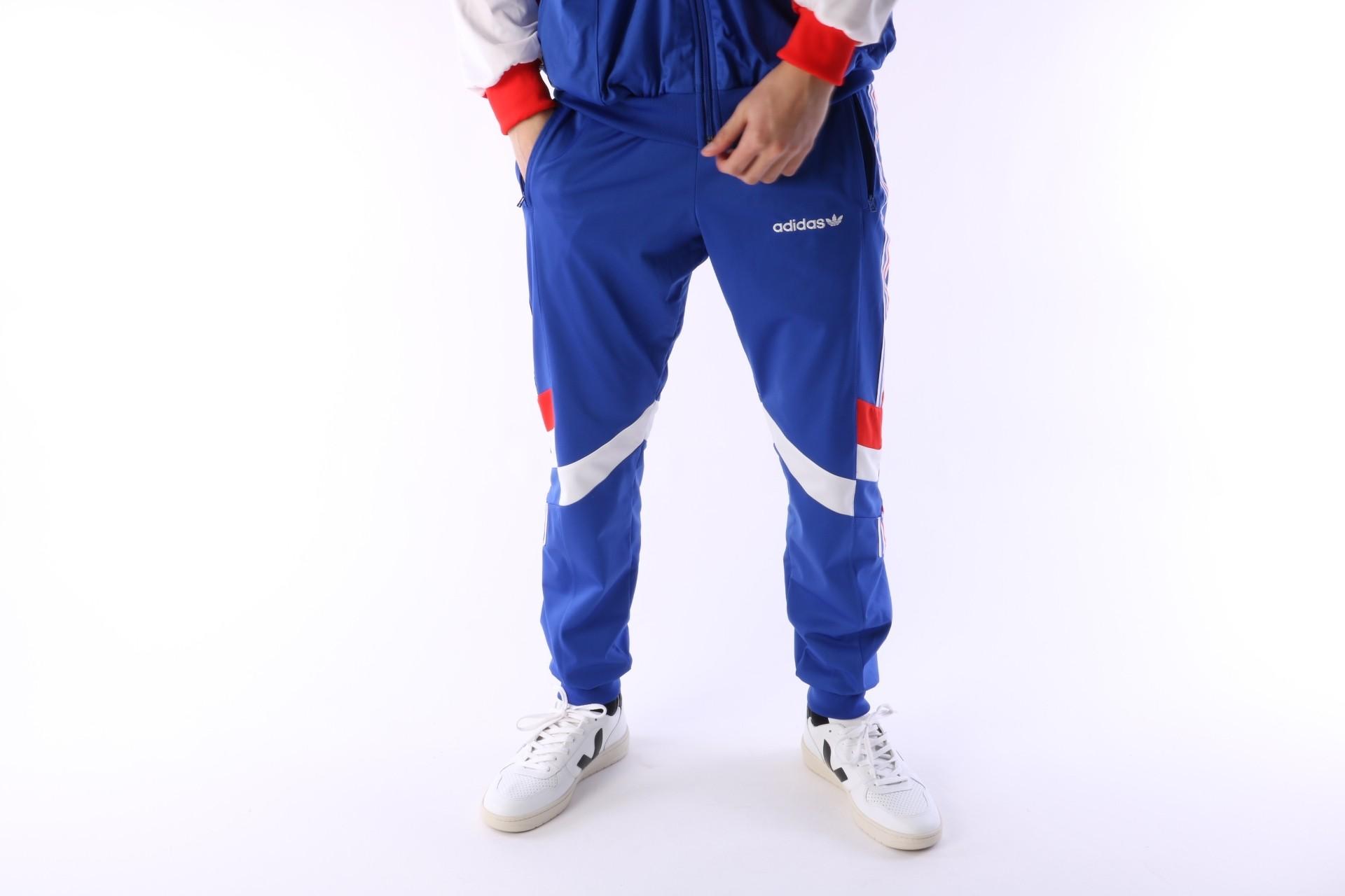 Foto van Adidas Originals CE4854 Trackpant Aloxe Blauw