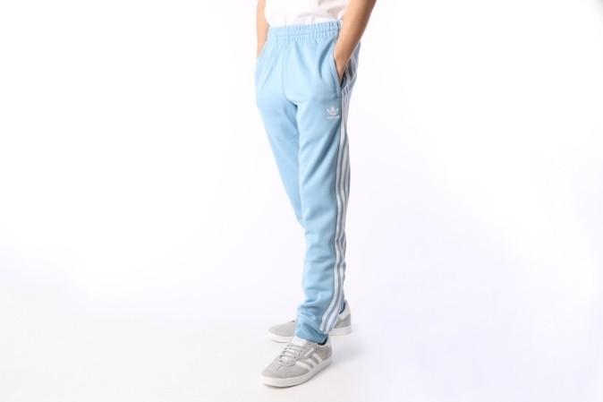Foto van Adidas Originals CW1277 Trackpant Sst Grijs