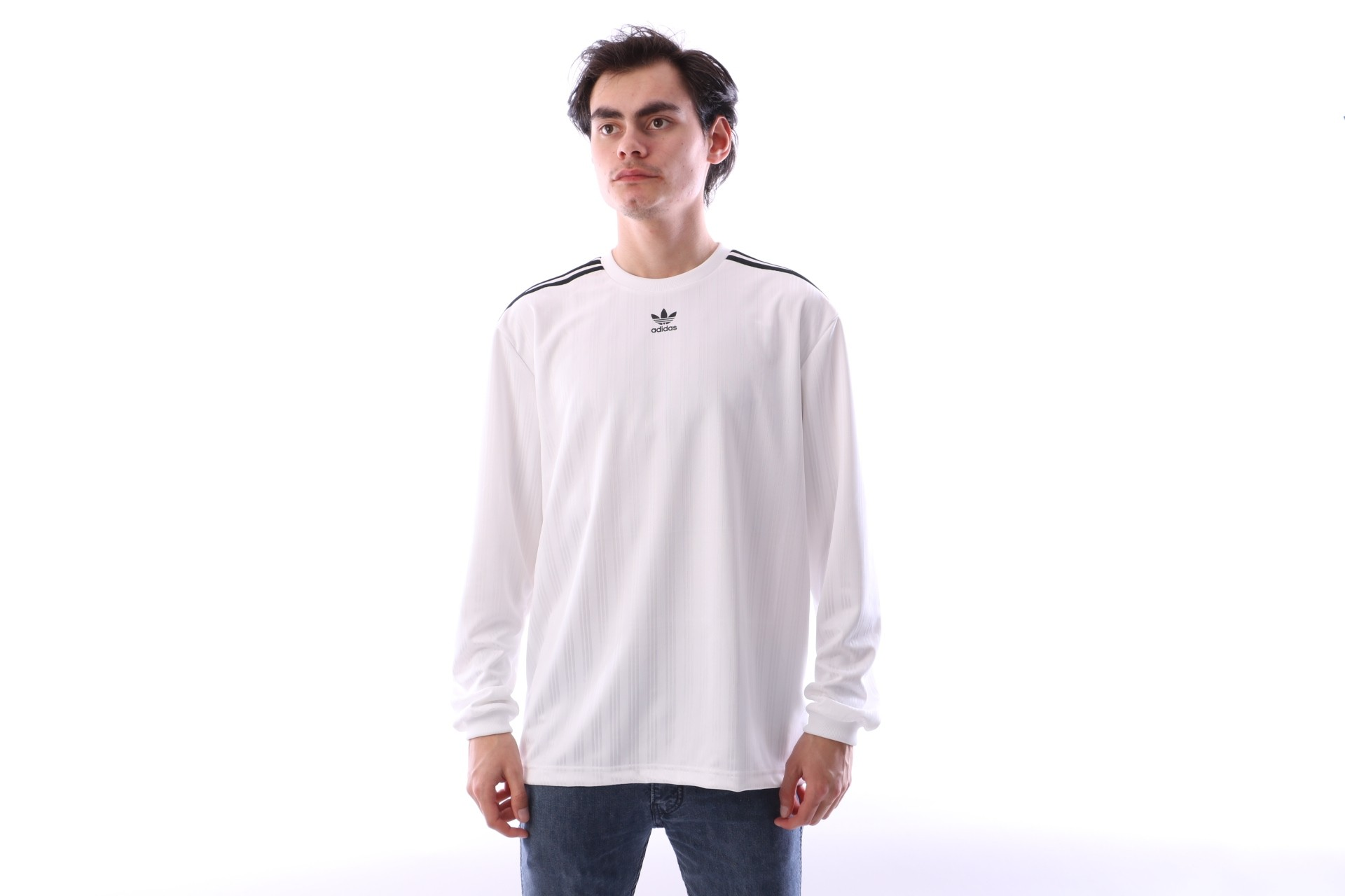 Foto van Adidas Originals CW1225 Jersey Ls Wit
