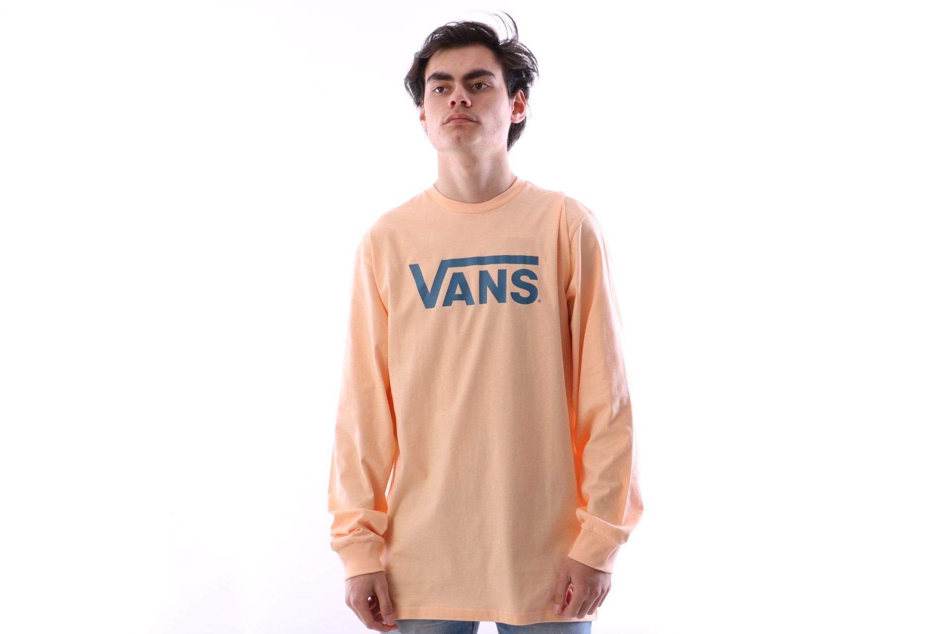 Foto van Vans V00K6H-PF0 Longsleeve Vans classic Apricot ice