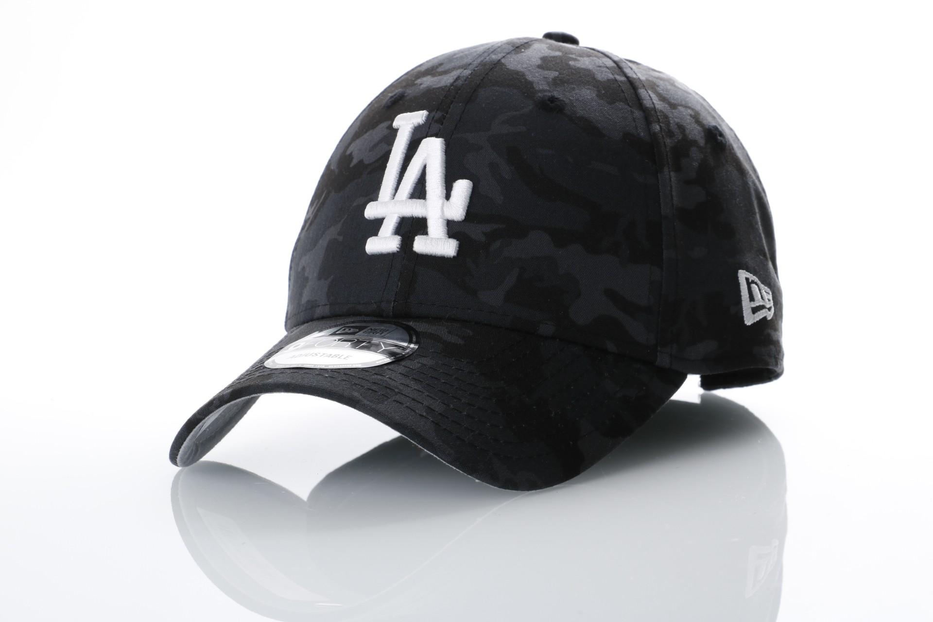 Afbeelding van New Era 80536747 Dad cap Camo team 940 LA Dodgers Multi coloured/gray