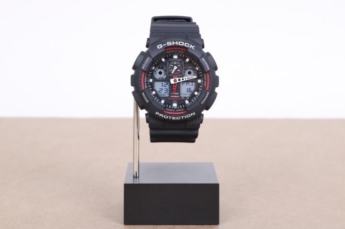 Foto van Casio G-Shock GA-100-1A4ER Watch GA-100 Zwart