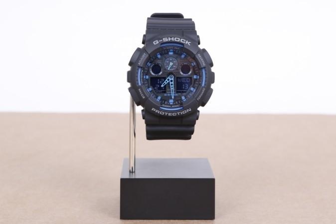 Foto van Casio G-Shock GA-100-1A2ER Watch GA-100 Zwart