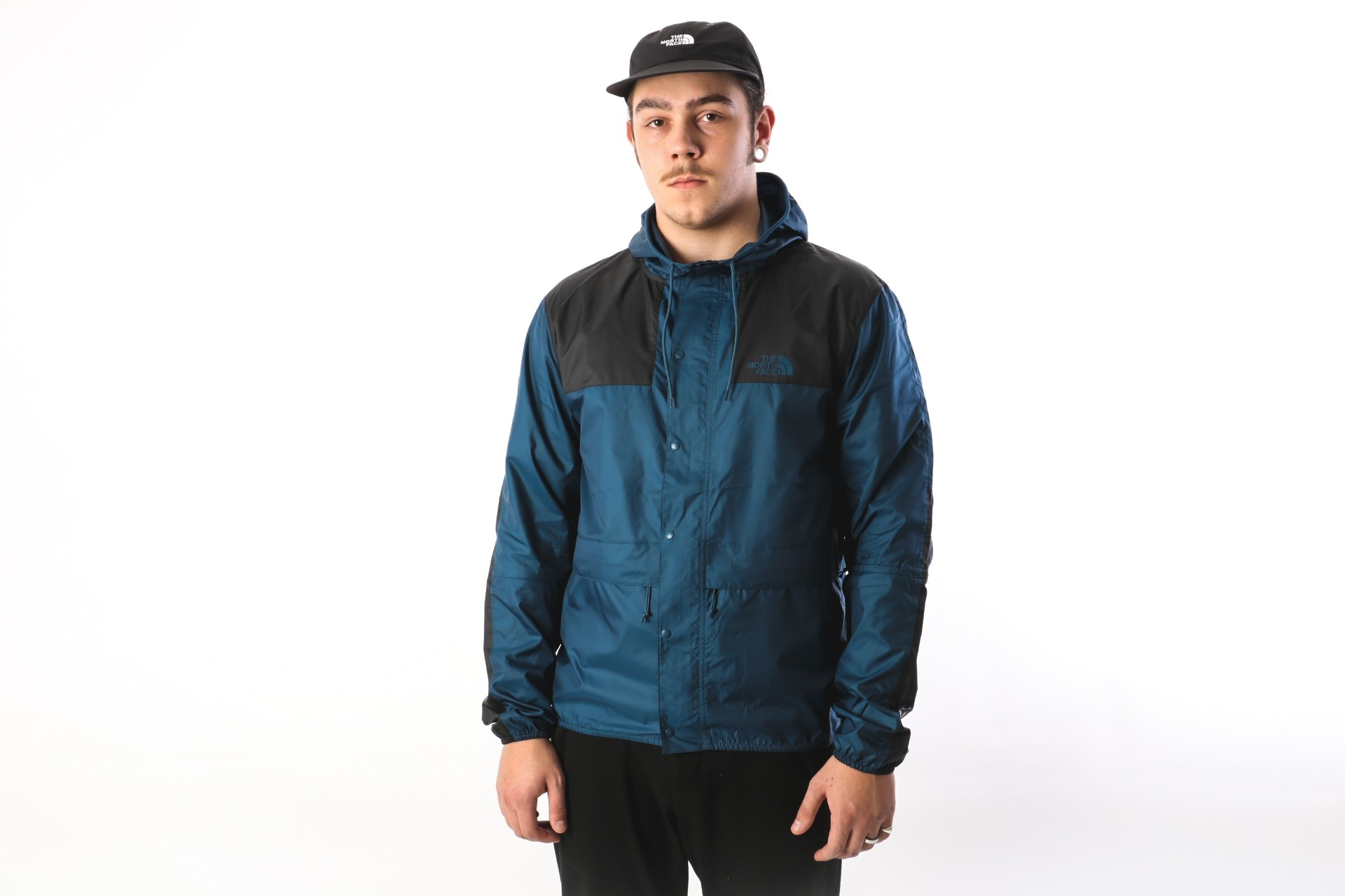 Afbeelding van The North Face T0CH37-N4L Jacket 1985 mountain Blauw
