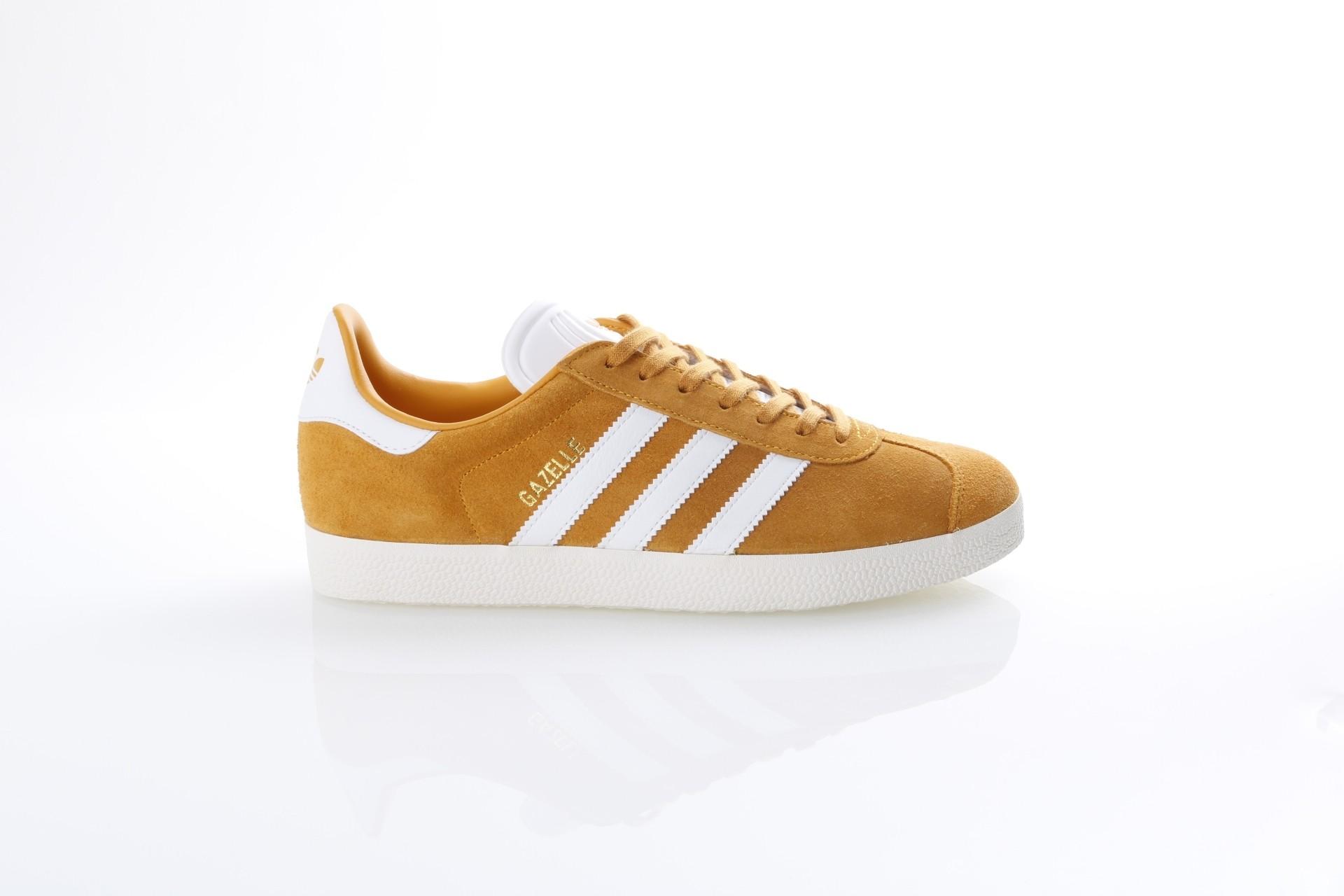 Foto van Adidas Originals CQ2801 Sneakers Gazelle Goud