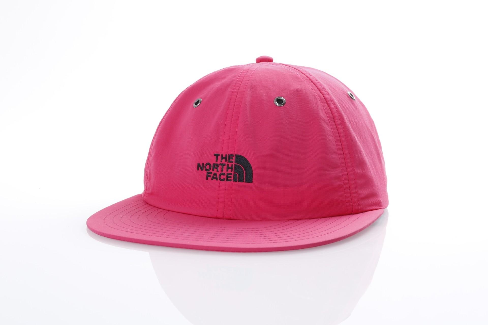 Foto van The North Face T93FFM-1WT Strapback cap Thrwback tech Roze