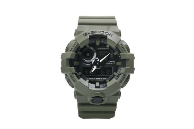 Foto van Casio G-Shock GA-700UC-3AER Watch GA-700UC Groen