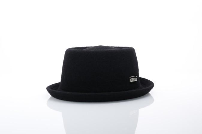Afbeelding van Kangol K1928ST Hat Wool mombray Zwart