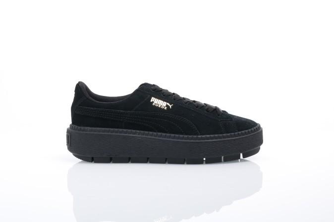 Afbeelding van Puma Ladies 365830-01 Sneakers Platform trace Zwart
