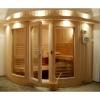 Afbeelding van Azalp Sauna Runda 220x203 cm elzen