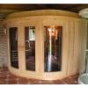 Afbeelding 4 van Azalp Sauna Runda 237x203 cm elzen