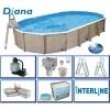 Afbeelding van Interline Diana 730 x 360 x 132 cm inclusief pakket