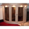 Afbeelding 10 van Azalp Sauna Runda 220x203 cm elzen