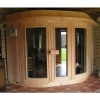 Afbeelding 11 van Azalp Sauna Runda 220x203 cm elzen